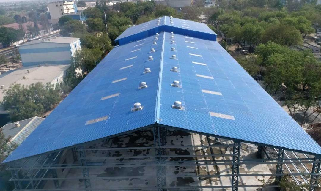 Colored Cement Roofing
